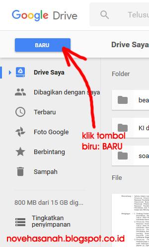 cara membuat soal atau kuis online di google drive untuk ujian atau tes siswa sangat mudah. baca tutorial ini 12
