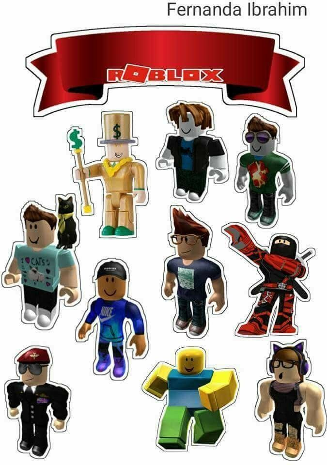 picture about Roblox Picture Printable identified as Roblox Free of charge Printable Cake Toppers. - Oh My Fiesta! for Geeks