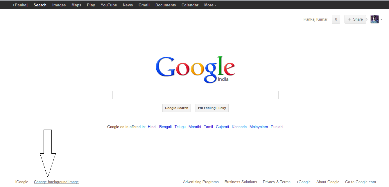 Best Kitchen Gallery: Change The Background Image Of Your Googlehome Page of Google Home Page Graphics on rachelxblog.com