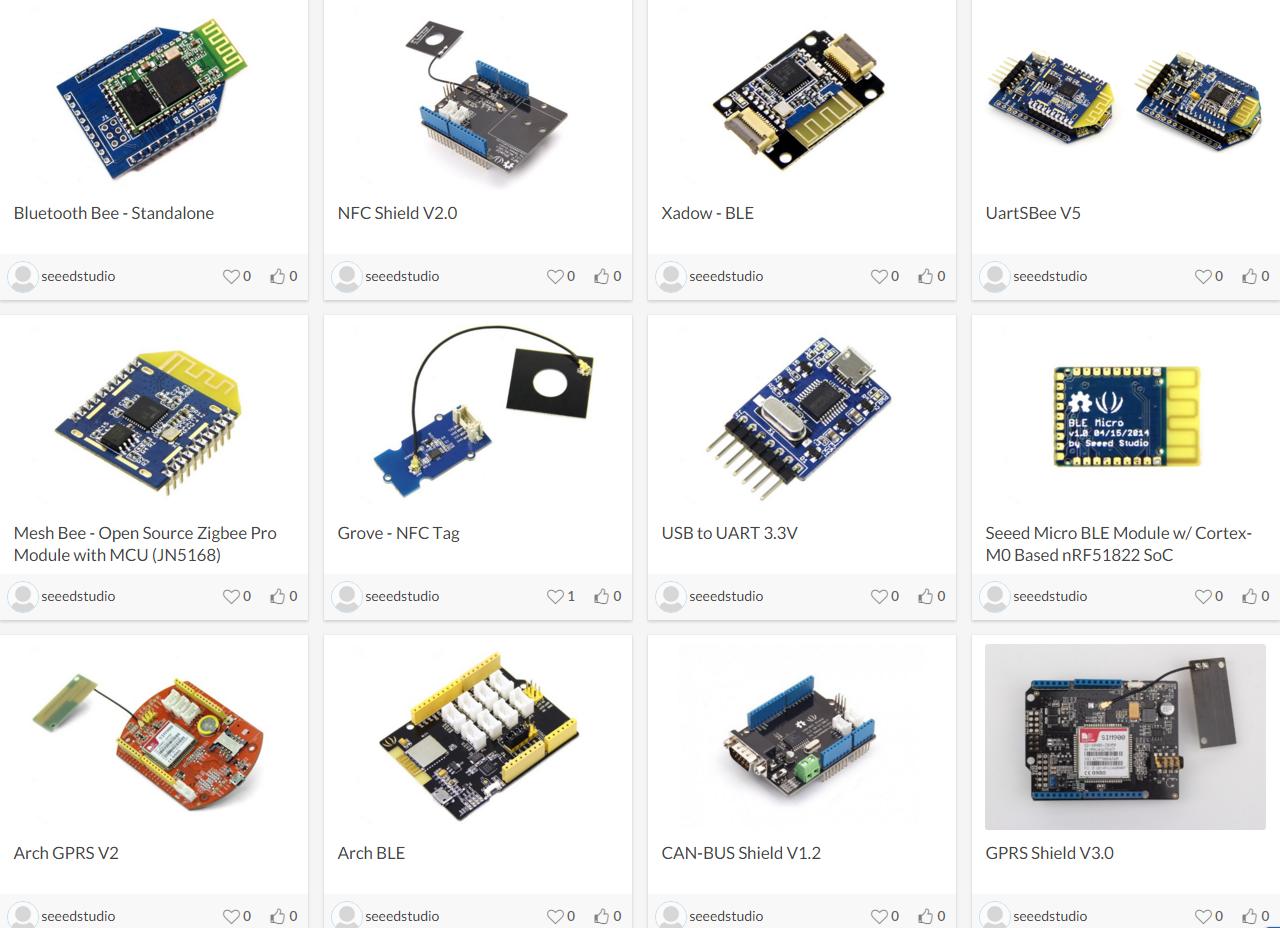 EasyEDA módulos open-source.