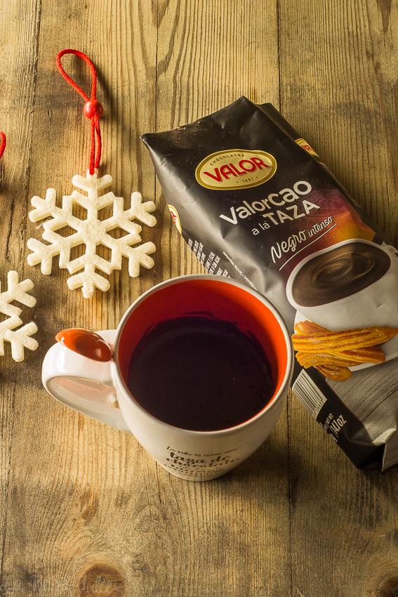 Chocolate a la taza especiado #sinlactosa #sinlacteos #singluten | la Rosa dulce