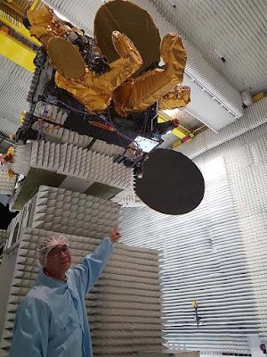 Telkom 3S Satellite