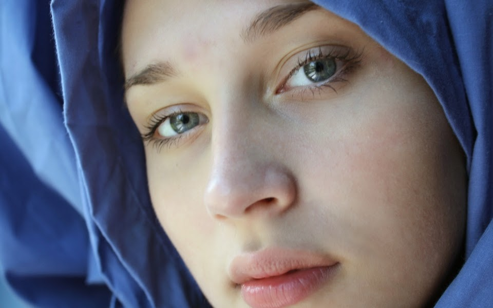 Excellent Beautiful muslim women face pictures something is