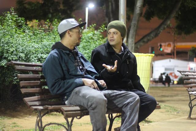 O rapper mineiro Lindomar 3L concede uma entrevista para o Canal Derruba Brasil