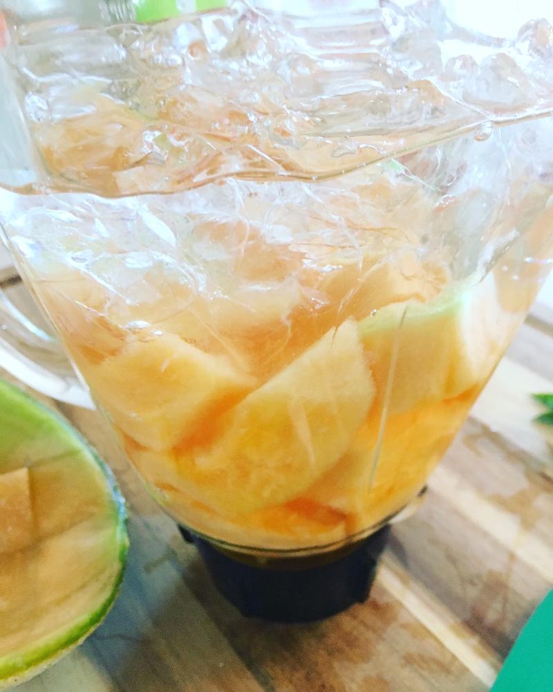 Resultado de imagen para agua con melon