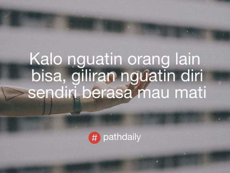 560+ Gambar Kata Kata Instagram Pathdaily HD Terbaik