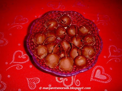 Margaret's Morsels | Chocolate Covered Cherries