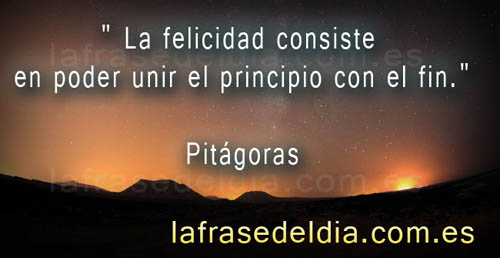 Frases famosas de Pitágoras