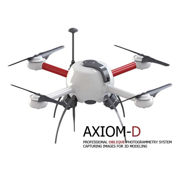 Axiom-D Professional Oblique Photogrammetry System - yanmu indonesia