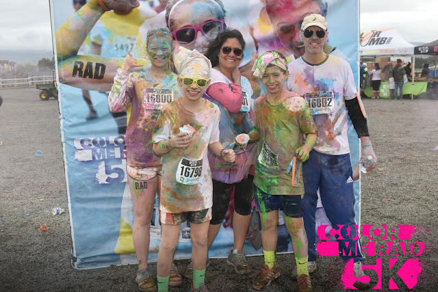 Color Me Rad color run in San Jose