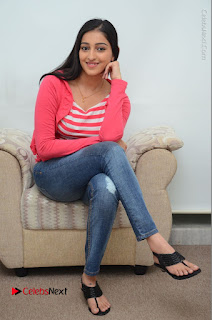 Telugu Actress Mouryani Latest Pos in Blue Denim Jeans  0096.JPG