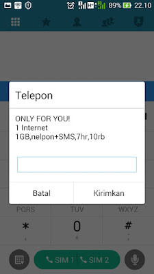 paket only for you indosat murah
