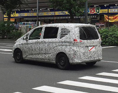 2016 Honda Freed MPV spyshot  0