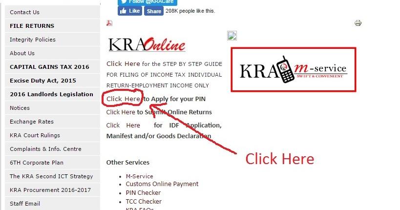 How%2Bto%2Bapply%2Bfor%2BKRA%2BPIN Kra Pin Sample Filled Application Form on