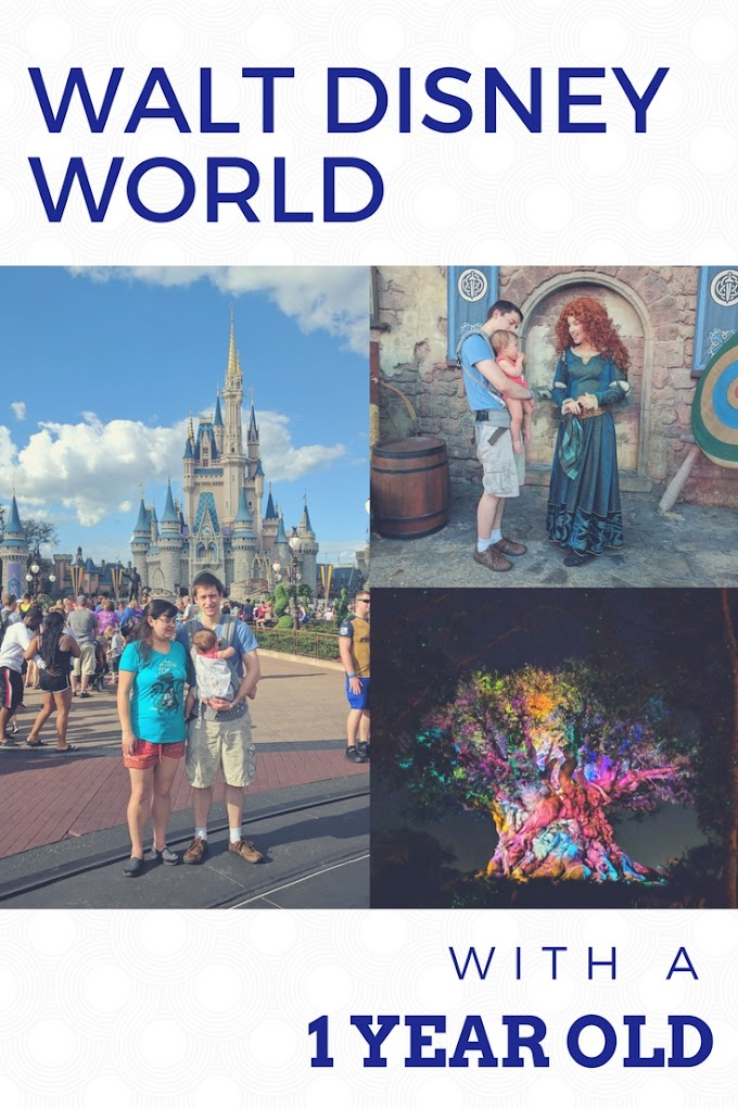Tips For Visiting Walt Disney World with a 1 Year Old