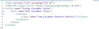 Cucumber with testng