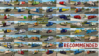 ets 2 painted bdf traffic pack v5.2