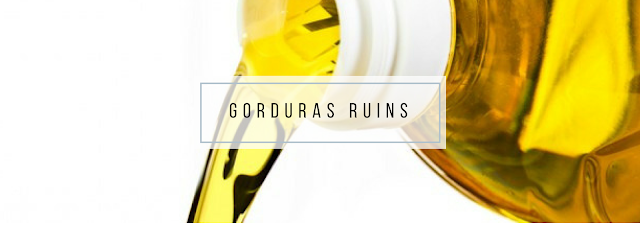 Gorduras Ruins: devem ser evitadas ao máximo em nossa alimentação diária e rotina alimentar.