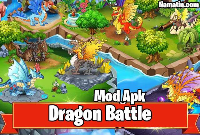 apk mod dragon battle