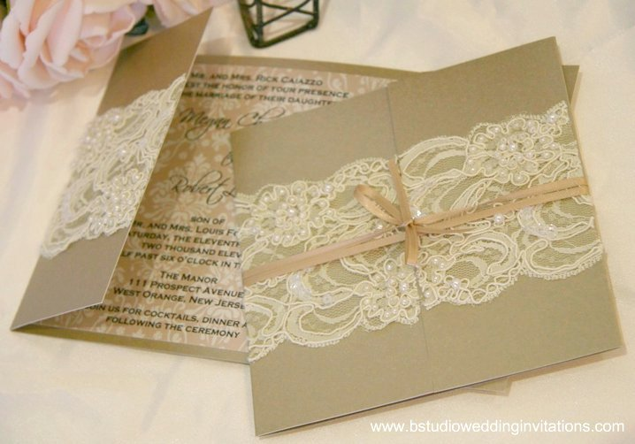 Wedding Invitation Lace: Posh Wedding And Event Designs