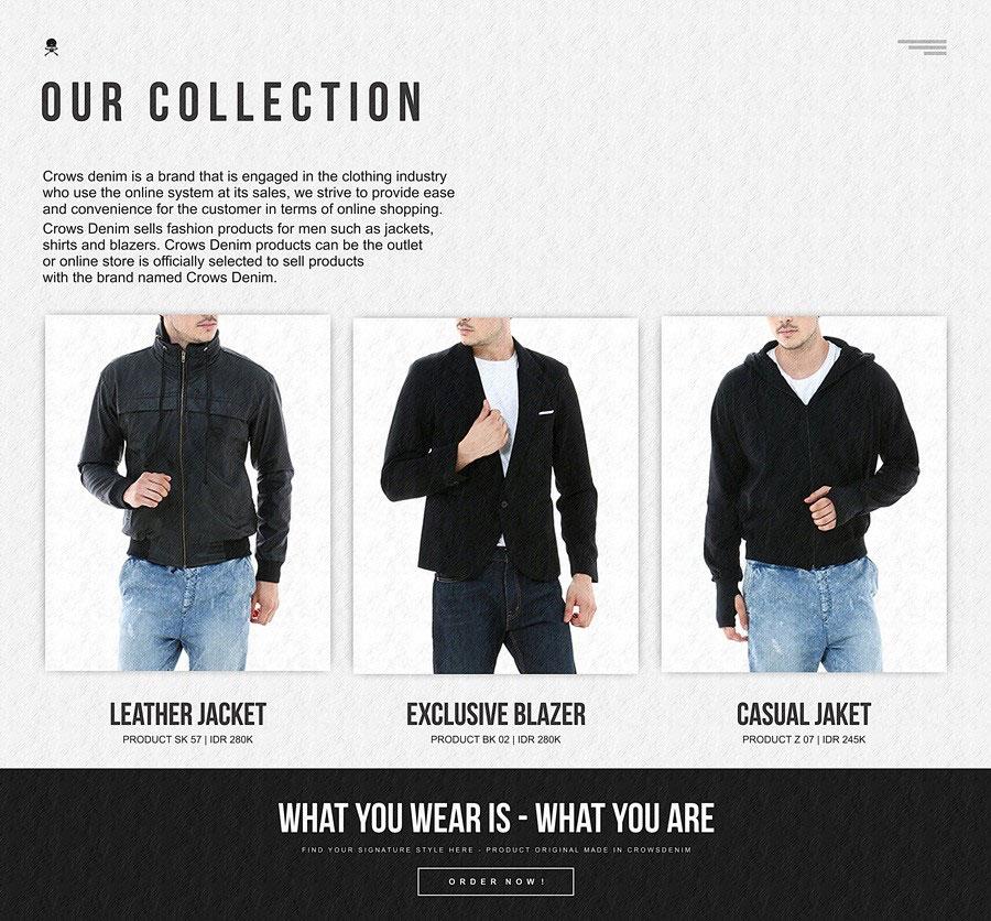 jati diri kamu tergantung penampilanmu fashion cowok jaket pria
