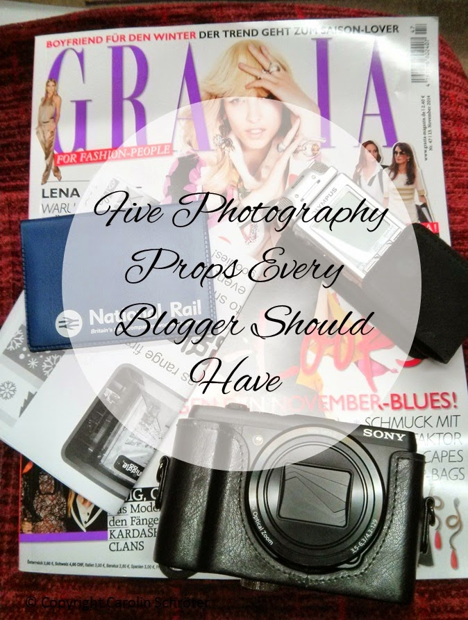 Blogger Photography props
