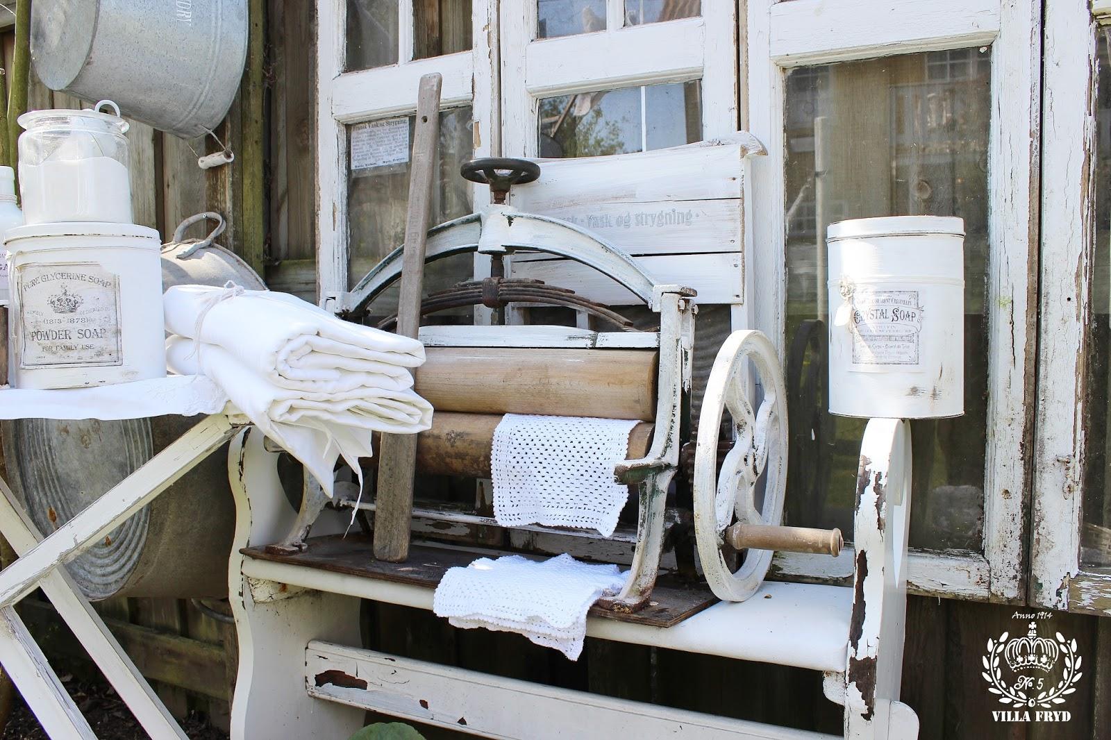 Hos villa fryd: vaskedag