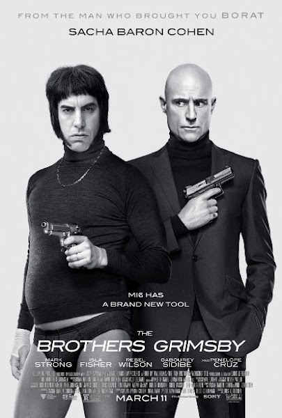 Poster Of The Brothers Grimsby 2016 720p HDRip Full Movie Download