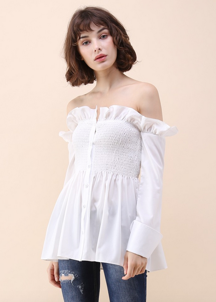 http://www.chicwish.com/stylish-sweetheart-ruffle-off-shoulder-top-in-white.html
