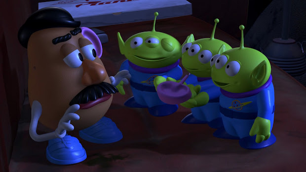 Mr Potato Head Toy Story Aliens