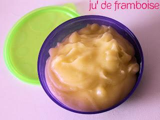 © Ju2Framboise - Purées et compotes bébé