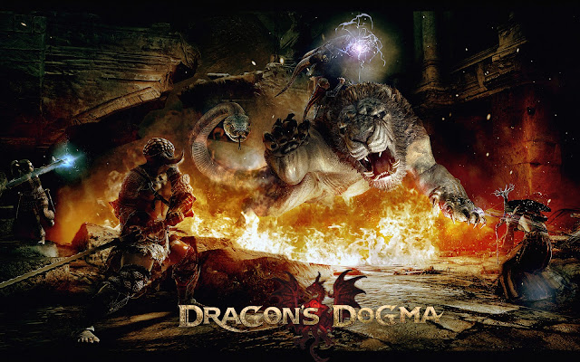 dragons dogma game 2 como papel de parede