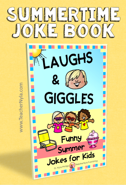 Summer Joke Book for Kids