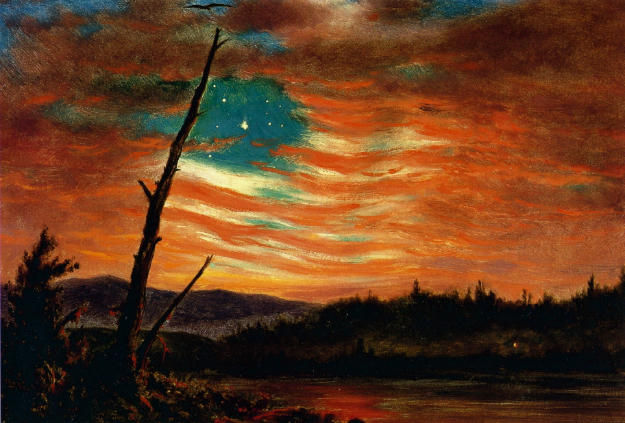 Confederate Flag Wallpaper Hd 19th Century American Paintings Frederic Edwin Church