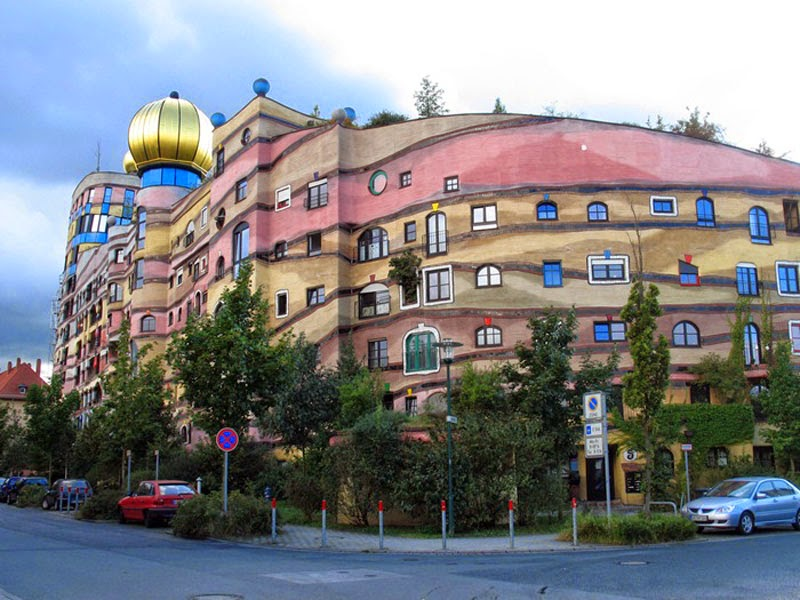1. Waldspirale (Darmstadt, Germany) - Top 13 World's Strangest Buildings