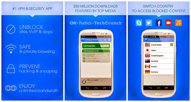 Download hotspot shield vpn android terbaru