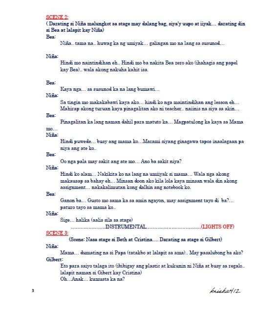 Radio Script Format Example – Jerusalem House