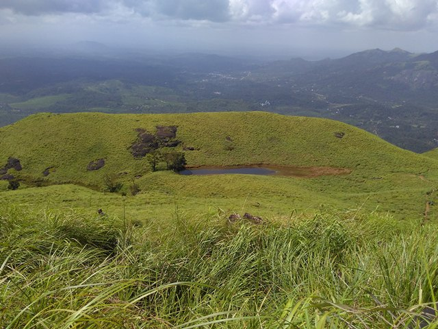 Chembra Peak Trekking - The heavenly view