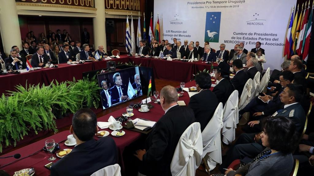 Macri reclamó la restitución de la democracia en Venezuela en la Cumbre del Mercosur