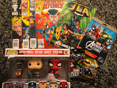 Comic Book Geek Extravaganza #Giveaway Prizes