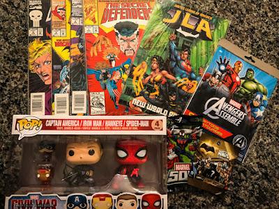 Comic Book Geek Extravaganza #Giveaway Prizes