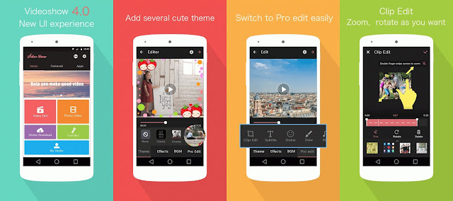 3 Aplikasi Editing Video Terbaik di Android 5