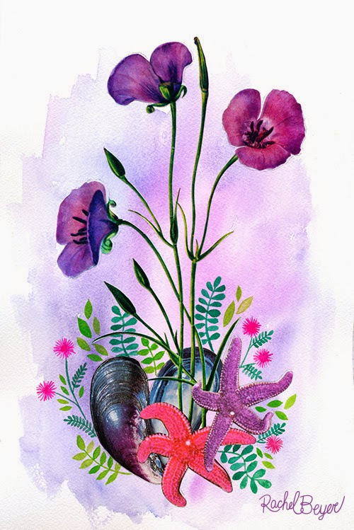 Camp Smartypants: Botanical Collages