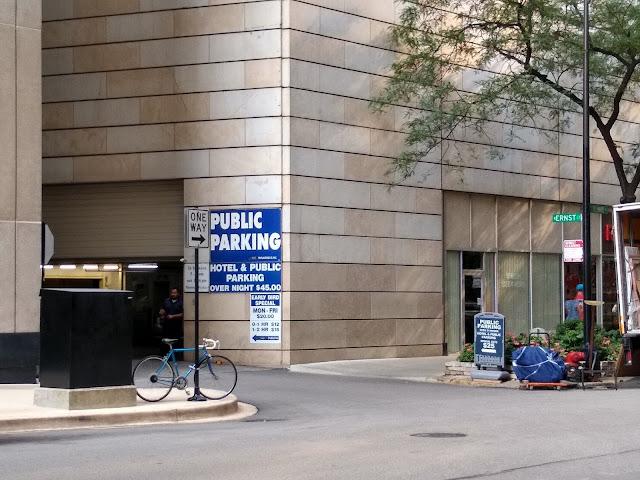 Парковка в Чикаго
