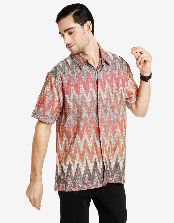32 Model Kemeja Batik Pria 2019 Desain Modern Banyak Di Minati