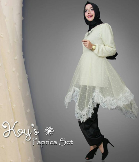 gambar model baju renda