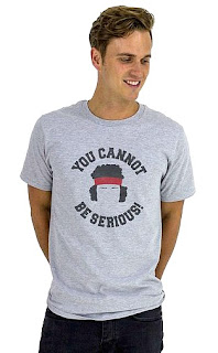 """You Cannot Be Serious"" John McEnroe T-shirt"