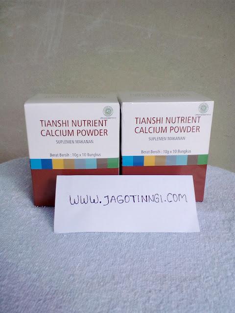 nutrient calcium powder, nutrient calcium powder tiens, tiens peninggi badan, nhcp tiens, susu kalsium terbaik merk tiens