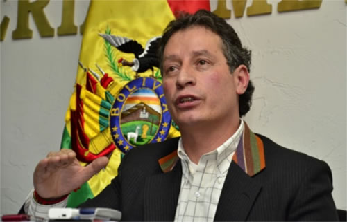 Cesar Navarro Ministro de Minería