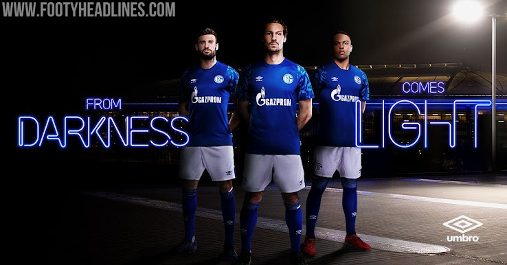 official photos 98d5c 24bb9 Schalke 19-20 Home Kit Released - Footy Headlines